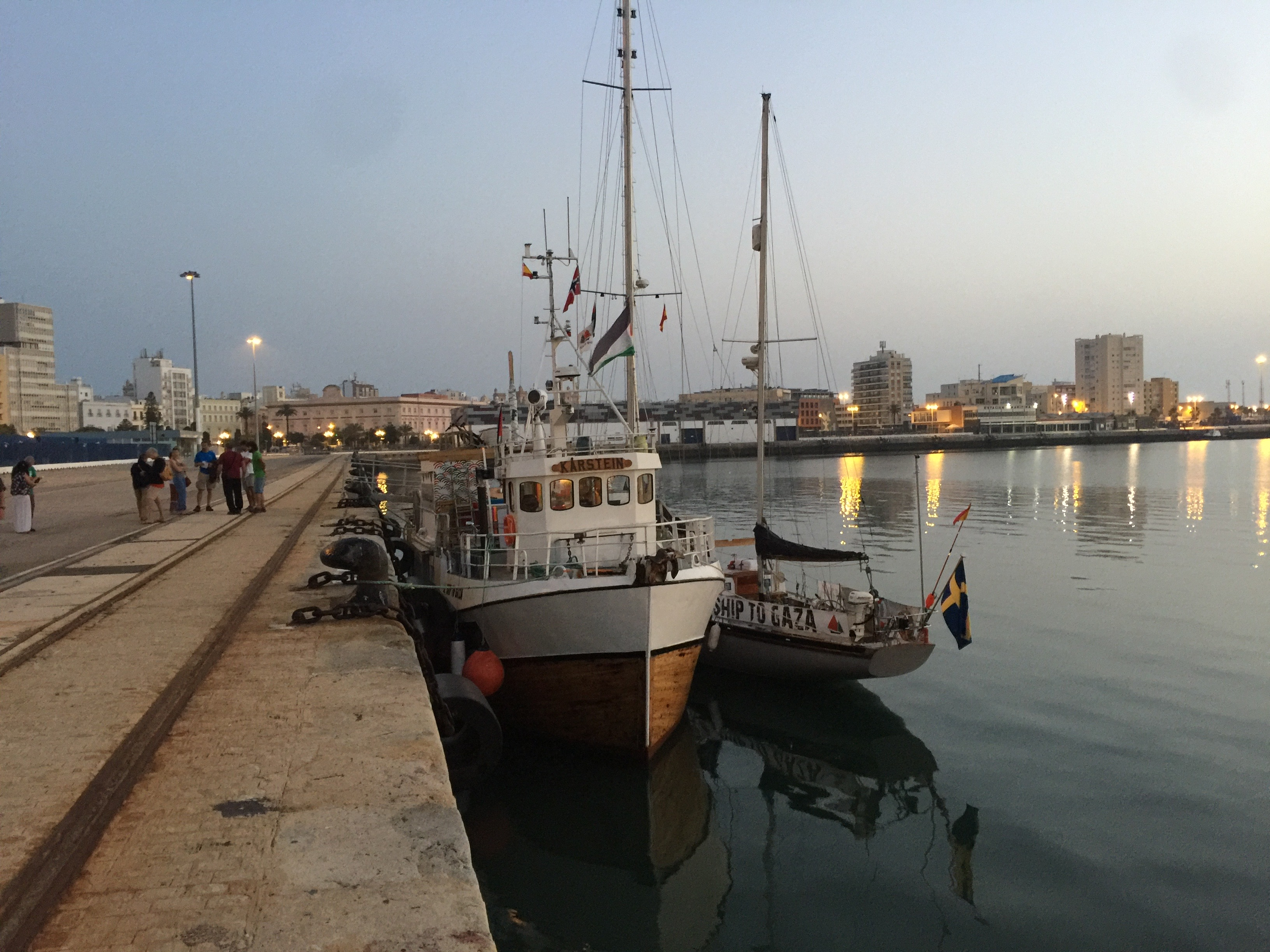 Al Awda Arrives in Cadiz